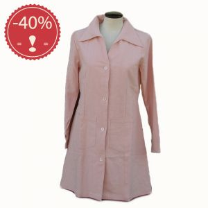 OUHV06JK419 Dust Coat Woman HEMP VALLEY ® (*)