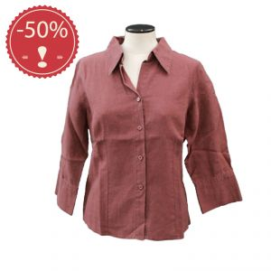 OUHV07SH001 Long Sleeve Shirt Woman OUTLET HEMP VALLEY ®