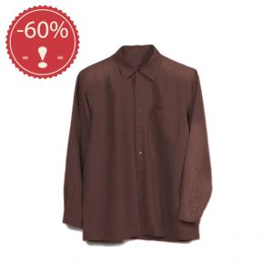 OUHV06SH060 Camicia a manica lunga Uomo OUTLET HEMP VALLEY ® (*)