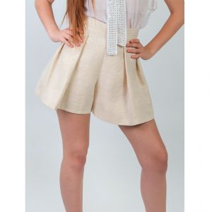 High waist Shorts  Hemp and Silk Women MALIA ®