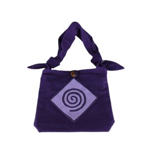 "Small Bag ""Spiral"" Cotton HANDMADE"