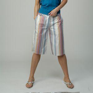 M306005P Striped Bermuda Woman MADNESS ®
