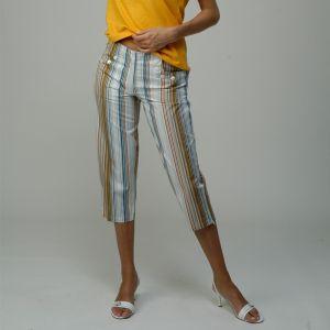 M306000P Pantalone corto rigato Donna MADNESS