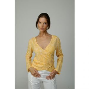 M739056 T-shirt incrociata in bamboo Donna MADNESS ®