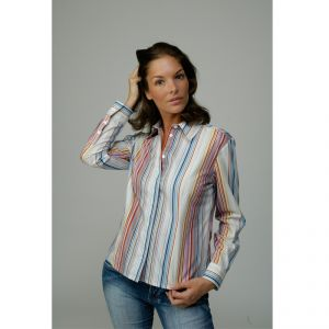 M303300P Long sleeve Striped ShirtWoman MADNESS ®