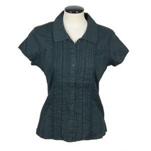 BT08LST612 Camicia plissettata a maniche corte Donna BRAINTREE ®