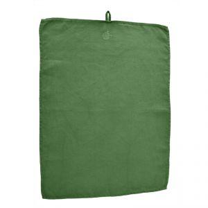 Canovaccio 100% canapa colore verde (tinto in capo) AMBLEKODI ®