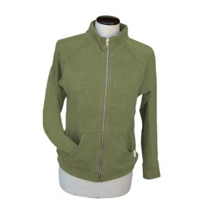 OUHV07JP105 Zipped Sweatshirt Woman OUTLET HEMP VALLEY ®