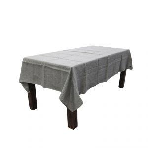 100% Hemp Tablecloth with  case color blue false plain AMBLEKODI ®