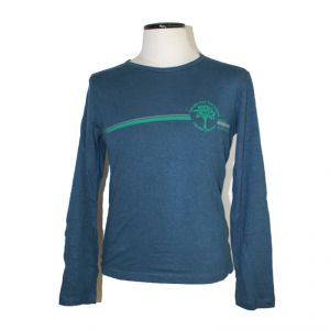 HV09TS092 Long sleeve Jersey 240g T-shirt Man HEMP VALLEY ®