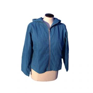HV08JK006 Zipped Hooded Jacket Woman HEMP VALLEY  ®