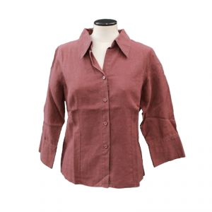HV07SH001 Long Sleeve Shirt Woman HEMP VALLEY ®