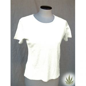 HV07TS972 T-shirt a manica corta Donna HEMP VALLEY ®