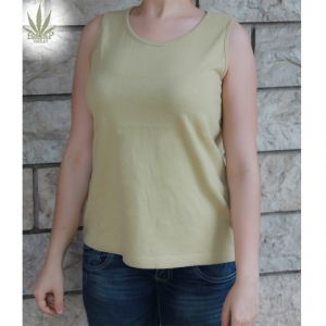 HV07TS605 Top spallina larga Donna HEMP VALLEY ®