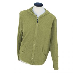 HV07JP977 Zipped light Hoodie Man HEMP VALLEY ®