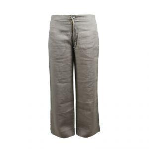 HV06PT003 Pantalone con inserti tribali Donne HEMP VALLEY ®