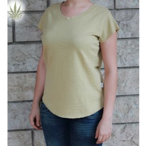 HV04TS606 T-shirt a manica corta Donna HEMP VALLEY ®
