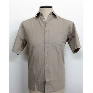 HV04SH715 Short sleeve Shirt Man HEMP VALLEY ®