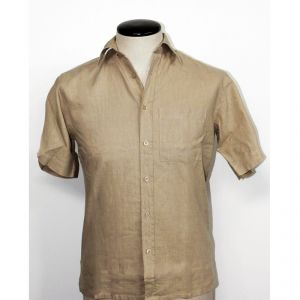 HV04SH711 Short sleeve Shirt Man HEMP VALLEY ®