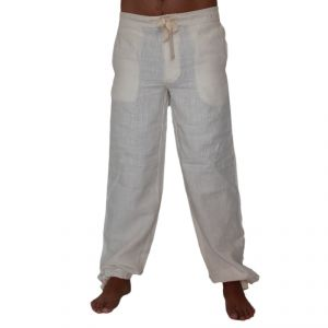 HV04PT310 Yoga Trousers Man HEMP VALLEY ®