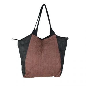 Borsa shopper #2 in canapa HANDMADE