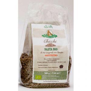 Chicchi - Pasta Bio di Riso integrale con Canapa Gluten Free 500g