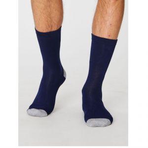 "T-SPM250 ""Solid Jack Plain"" Socks Man THOUGHT by BRAINTREE ®"