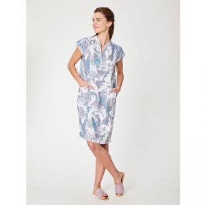 "T-18WSD3633  ""Oceanid"" Dress Woman THOUGHT ®"