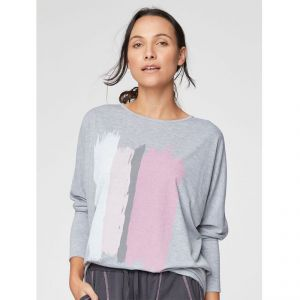 "T-19WST3982 ""Kirsi Tee"" Loungewear Top Woman THOUGHT ®"