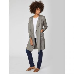 "T-19WSJ4073 ""Margo Jacket"" Modal Waterfall Coat Woman THOUGHT ®"