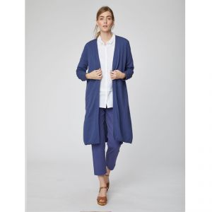 "T-19WST3992 Cardigan lungo ""Grehta"" Donna THOUGHT ®"