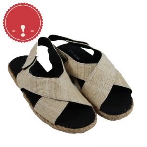 Crossed Hemp Sandals Woman PACINO ®OUTLET (*)