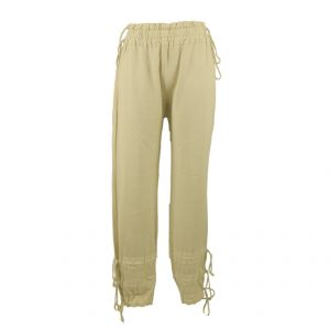 HV03PT512  Jogging Trousers with drawstring Woman HEMP VALLEY ®