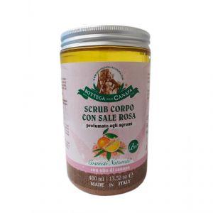 Scrub Corpo con Sale Rosa BIO - profumato agli agrumi