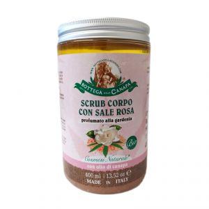 Pinky Salt Body Scrub BIO - gardenia scented