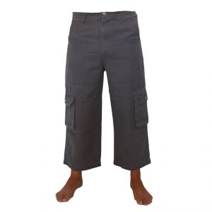 HV04PT106 Pantalone Pirata Uomo HEMP VALLEY ®