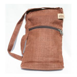 Hemp Small Shoulder Bag Unisex HANDMADE