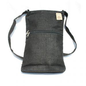 Hemp Small Shoulder Bag Unisex HANDMADE
