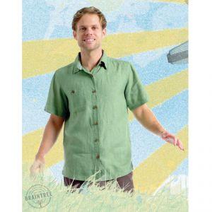 BT10MST004 Short sleeve Shirt Man BRAINTREE ®