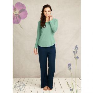 "BT14WST1947 T-shirt a manica lunga ""Bamboo Basic Tee"" Donna BRAINTREE ®"