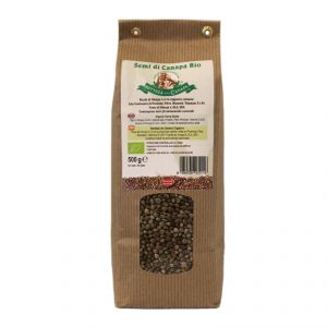 Organic Hemp Seeds 500 g