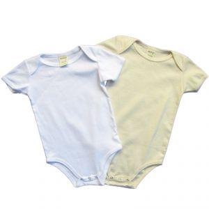 BTBABY100 Body a manica corta Baby box 2 pezzi BRAINTREE ®