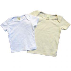 BTBABY101 T-shirt a manica corta Baby box 2 pezzi BRAINTREE ®