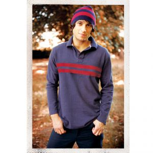 "BT10MWT1724 ""Benjamin Rugger"" Long sleeve Polo Man BRAINTREE ®"