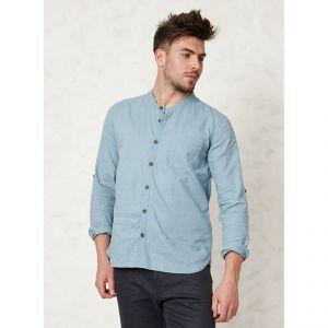 """BT15MST2271 Camicia coreana con colletto """"Essential Granpa"""" Uomo BRAINTREE ®"""