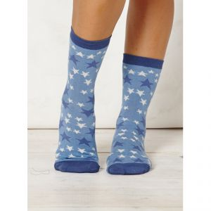 "BT15LS104 ""Stella"" Star Socks Woman BRAINTREE ®"