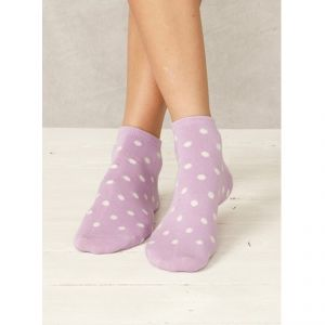 "BT15LS55 ""Spotted Bamboo Ankle"" short Socks Woman BRAINTREE ®"