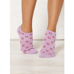 "BT15LS106 ""Jessie Flower Ankle"" short Socks Woman BRAINTREE ®"