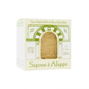 Sapone di Aleppo Con Olio d' Oliva e Olio di Alloro 16% TEA