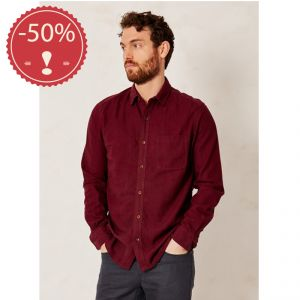 "OUBT15MWT2481 ""Wattle Jay"" Shirt Man OUTLET BRAINTREE ® (*)"